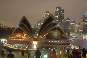 Goodnight and farewell Sydney.