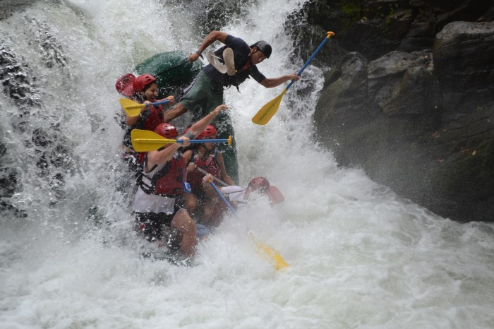 Class 5 Whitewater Rafting in Costa Rica.