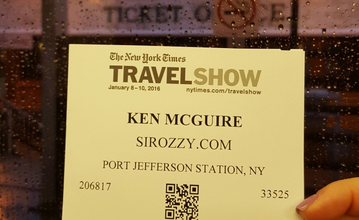 The New York Times Travel Show, Stay Tuned Folks…